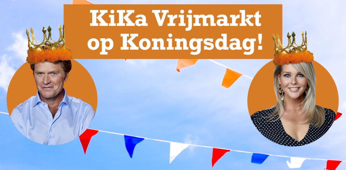 KiKa Vrijmarkt op Koningsdag